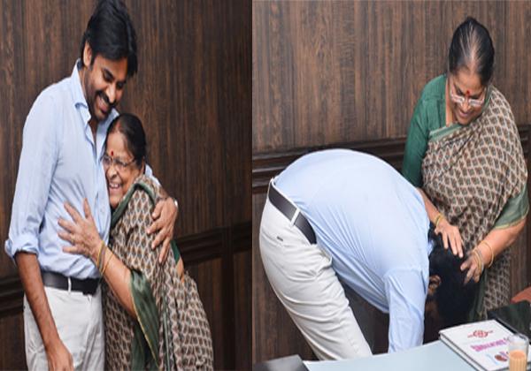 Janasena Cheif Pawan Kalyan Mother Donation To Janasena-