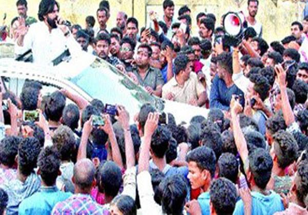A Young Boy Injures In Janasena Cheif Pavan Kalyan Tour At Srikakulam-