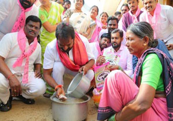 Telangana Election Campaining Diffrent Veriyations On Leders-