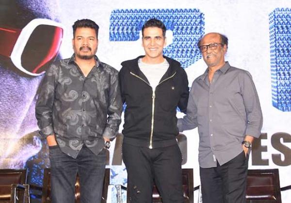 '2.0' Doesn't Need Promotions At All Rajinkanth-Akshay Kumar Director Shankar Rajinkanth