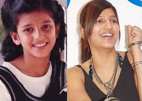 Children's Day Special 24 Telugu Heroines Childhood Pics-Childhood Pics Kajal Nayantara Rakul Preet Samantha Telugu