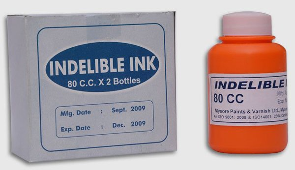 10 Interesting Facts About Indelible Voting Ink-Ndustry Standard Electoral Inks Silver Chloride Nitrate Voter Ink