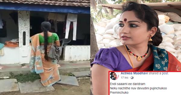 Actress Madhavi Latha Facebook Post Create Sensation-