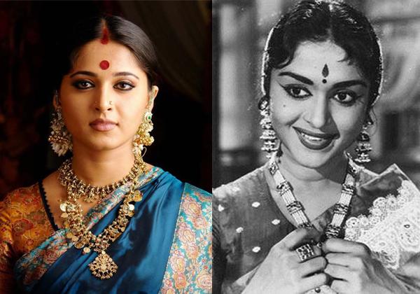 Anushka In NTR Bio Pic As B Saroja Devi-
