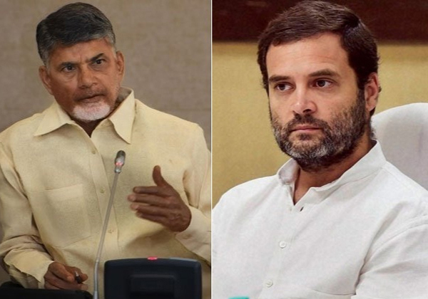 Chandrababu Naidu Demands To Rahul Gandhi-
