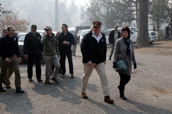 Donald Trump Wants California To Rake Forests Prevent Fires-California Wildfires
