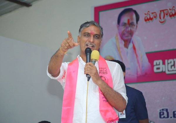 Harish Rao Comments On Chandrababu Naidu-