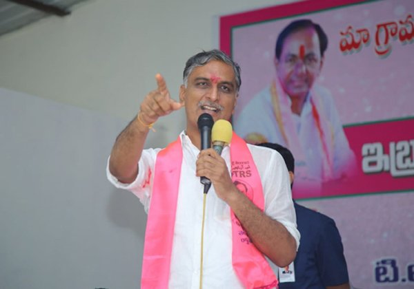 Is True That Congress Party Manipulating To Harish Rao-