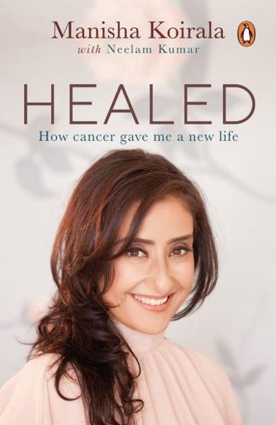 Manisha Koirala Unveils Cover Of Her Upcoming Book 'Healed'-Battle With Cancer Healed