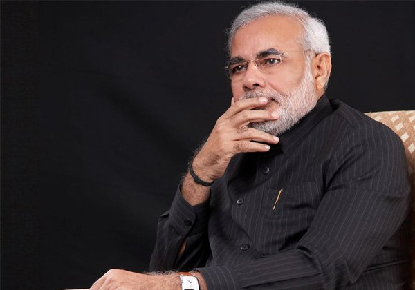 Modi's Hair In Congress Hand-