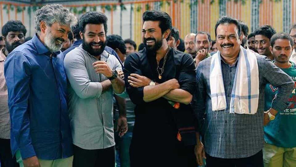Rajamouli Tight Security In RRR Movie Shooting-Rajamouli Ram Charan Shooting