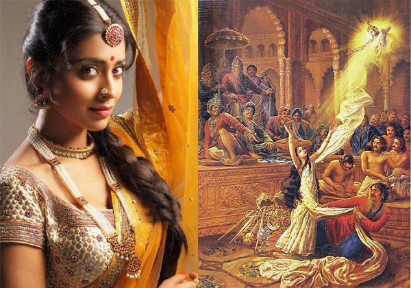 Shrira Sharan In NTR Biopic As A Droupadi-Krish Vanisree Vidhjyabalan