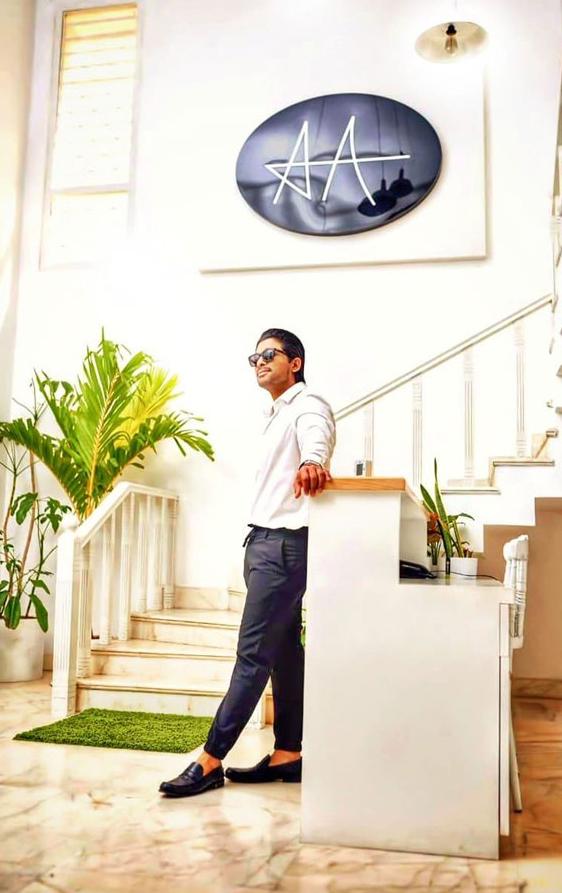 Stylish Star Allu Arjun Office-Allu Producer Jubilee Hills Stylish Office