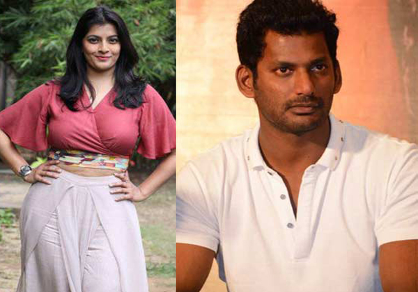 Varalakshmi About Her Love Matter With Vishal-