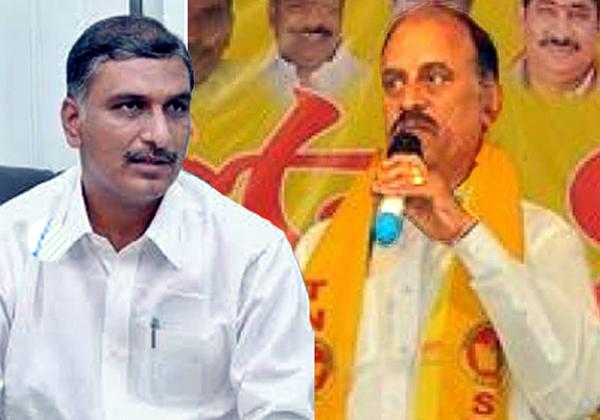 Tdp Leader Revuri Prakshreddy Coments On Hareeshrao-