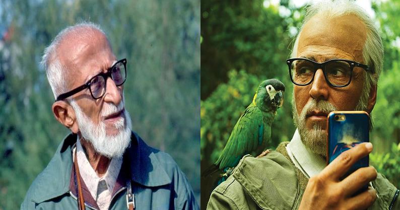 Robo 2 Movie Pakshi Raja Role Inspiration-Indian Birds Father Salim Ali Inspiration