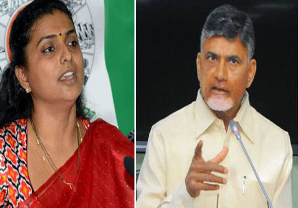 Ysrcp Leader Roja Fire On Ap Dgp And Inligence Cheif-