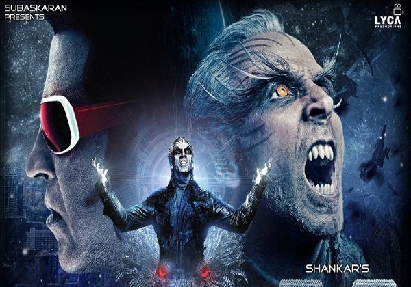 2.o Movie Five Days Collections-2.o Collections Akshay Kumar Amey Jackson Director Shankar Rajani Kanth