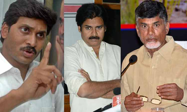 AP Political Parties Tension Over Telangana Poll Results-Chandrababu Naidu Janasena Pawan Kalyan Tdp Telangana Election Results Ycp Ys Jagan