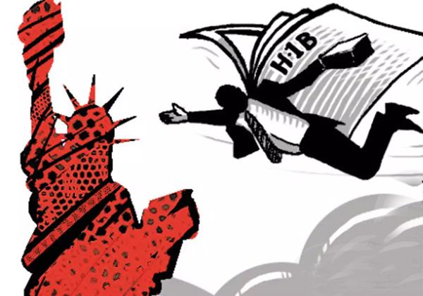 H1b Visa For Only Who Studies In America Only-H1b NRI Telugu News Updates