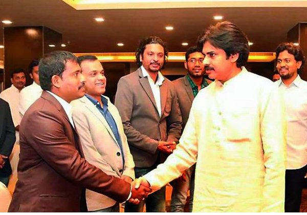 Janasena Meeting In America With Pawan Kalyan-NRI Kalyan Telugu NRI