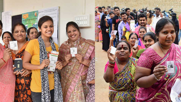 Lady Voters In Telangana Is Essential For Decide The Result-Lady Result Elections