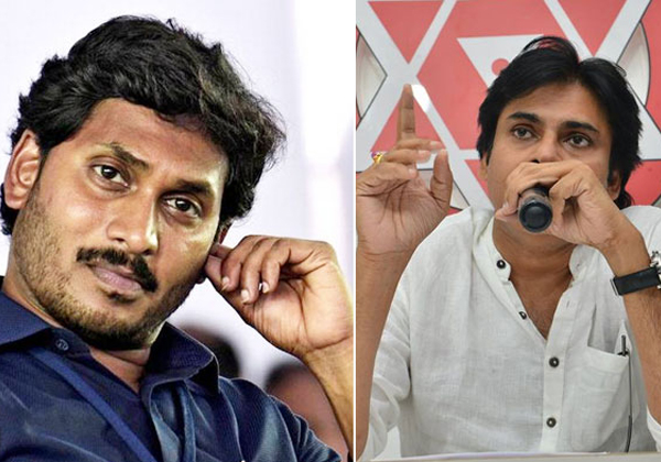 Pawan Kalyan And YS Jagan Why You Are Discussing On That Matter-Elections In AP Janasena YCP