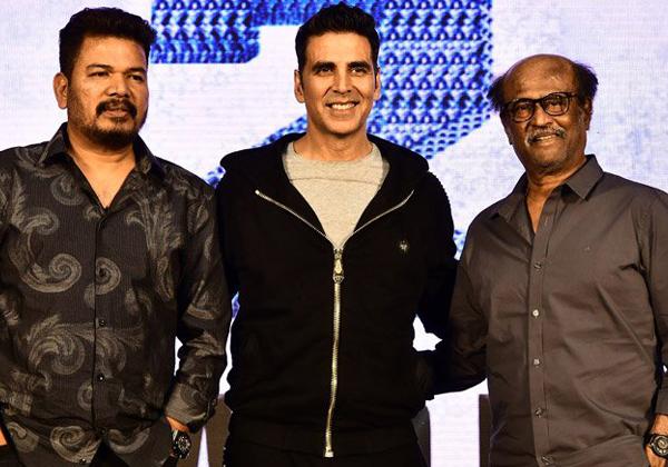 Rajinikanth And Akshay Kumar's 2.o Creates Another Record-Akshay Kumar Amey Jackson Director Shankar Rajani Kanth Robo Sequel