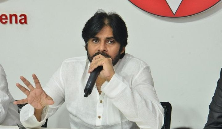 Pawan Said He Was Going To Contest From There--Pawan Said He Was Going To Contest From There-