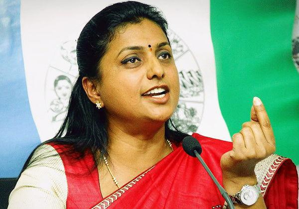 Ysrcp Party Leaders Try To Damage Roja Image In Party--YSRCP Party Leaders Try To Damage Roja Image In Party-