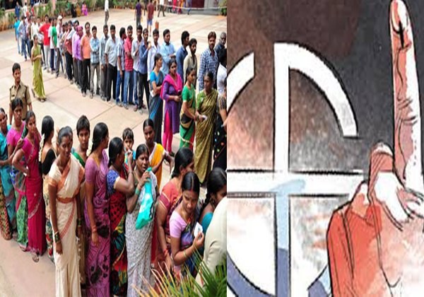 One Villegers Boycott Voting At Telangana Elections-