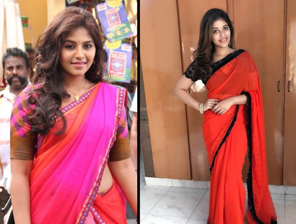 Anjali Lost Weight Photo Goes Viral In The Social Media-Anjali Anjali 10 Kgs Gosips On Actress Viral News Pics Of