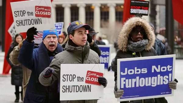 How Much Is Shutdown Worth In America-Shutdown America Shutdown Telugu Nri News Updates