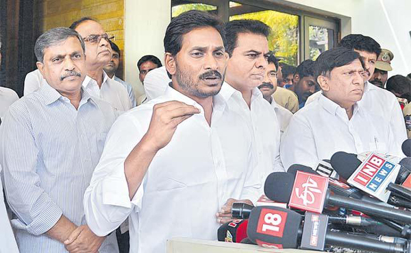 It Is Difficult To Join With TRS Party In AP-Chandrababu Naidu Elections AP KR KTR TDP And YCP Tieup