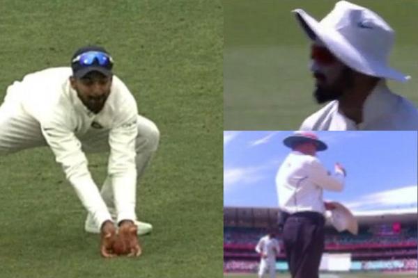 KL Rahul Earns Praise For Sportsmanship In Sydney Test-Harris Batting Kl Sportsmanship Test
