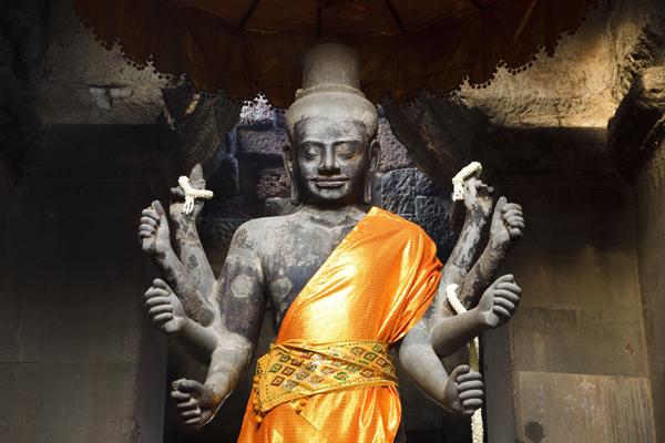 Nasa Technology Reveals Hidden Graffiti Of Angkor Wat Temple-Cambodia Khmer King Suryavarman