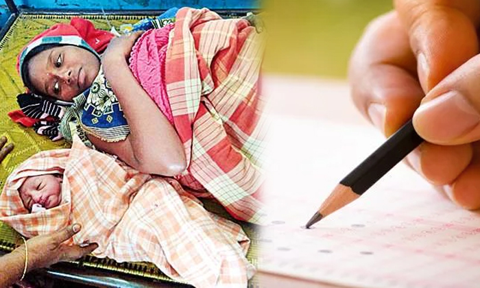 Pregnant Women Attend Dsc Exam, Blessed A Baby Boy--Pregnant Women Attend Dsc Exam Blessed A Baby Boy-