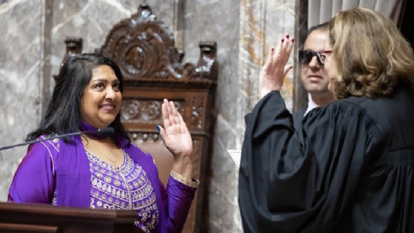 The Indian NRI Women As American Senator-Mona Dass Nri Telugu Nri News Updates