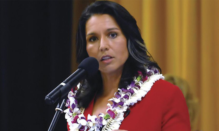 Tulsi Gabbard So Disappointed About That Rumors--Tulsi Gabbard So Disappointed About That Rumors-