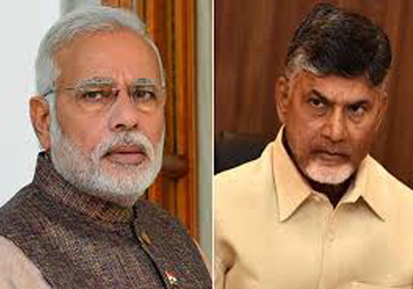 Narendra Modhi Sensetional Coments On Chandrababu Naidu-