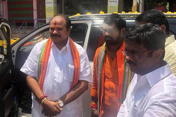 BJP Started Bus Yatra In Andhra Pradesh-Bjp Bjp Chandrababu Naidu Pawan Kalyan Janasena Tdp Ycp Ys Jagan