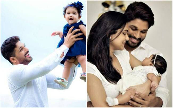 Funny Videos Of Allu Arjun And His Daughter About Her Marriage-Funny Mega Family Sneha Reddy Viral Viral In Social Media