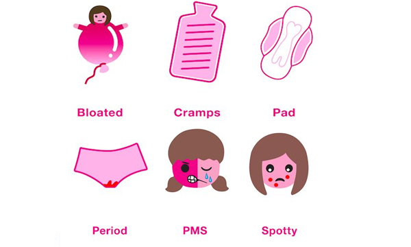 Period Emoji Created To Help Girls Talk About Menstruation-New Period Smart Phones