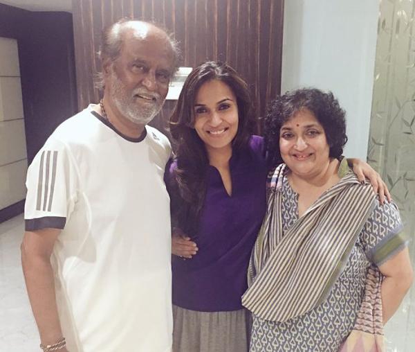 Rajinikanth Wife Request To Tamilnadu Police About Her Daughter-Rajinikanth Rasjanikanth Daughter Ashwarya Marrieage