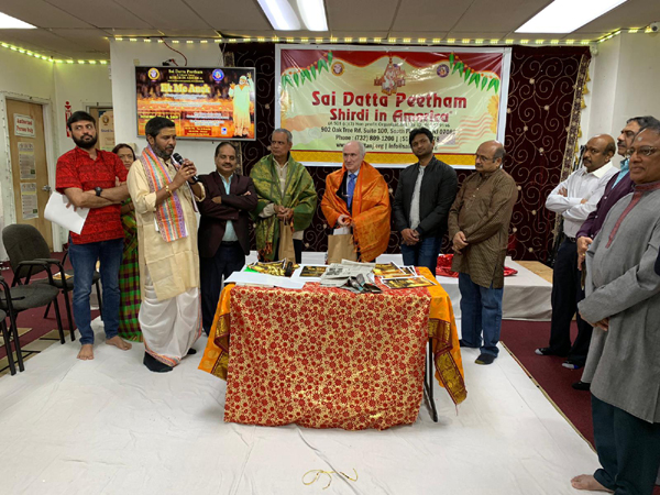 Sai Datta Peetham Ek Me Anek Program At Shirdi In America-Nri Sai Shirdi America Telugu Nri News Updates