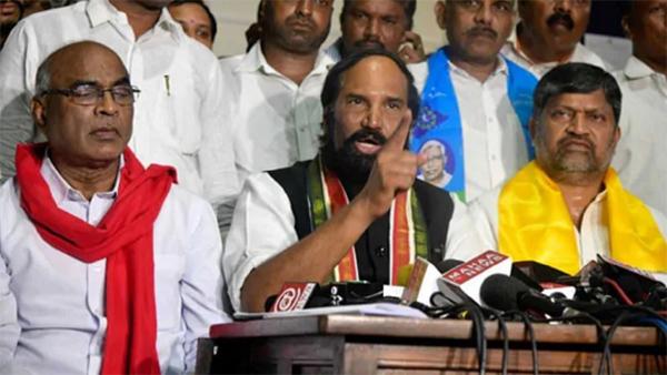 Telangana Congress Party Ready To Give MP Ticket But No One Caring-Kcr Ktr Telangana Trs Utham Kumar