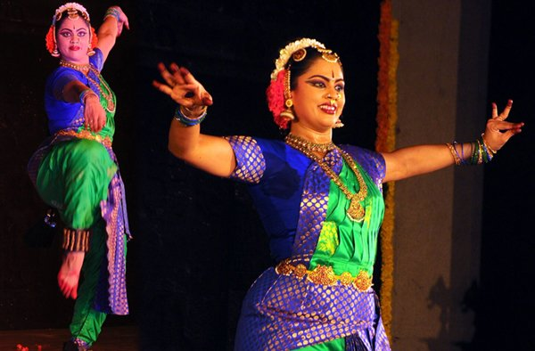 Trivikram Wife Soujanya Enthralls Audience With Bharatanatyam-Kalabharathi