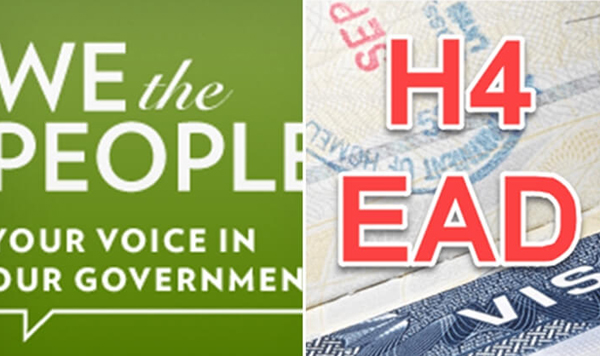 A Petition Launched On The White House Website To Save H4 EAD-It Pro Alliance Launches Save Ea