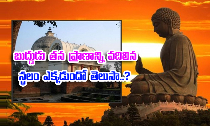 Lord Buddha Last D Place Is Kushinagar--Lord Buddha Last Lived Place Is Kushinagar-