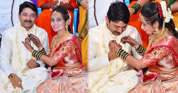 Meet The New Age Brides Tying Mangalsutras To Grooms-Distinctive Wedding Grooms Karnataka Vijayapura District